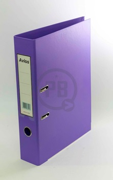 Bibliorato A4 carpeta forrado violeta Avios