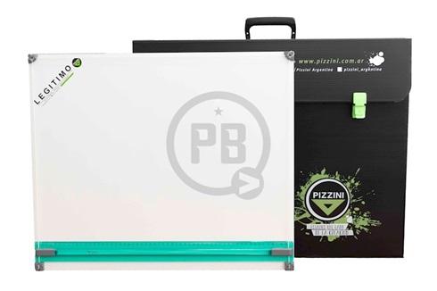 Tablero Pizzini 7765/60 con paralela y estuche portatil