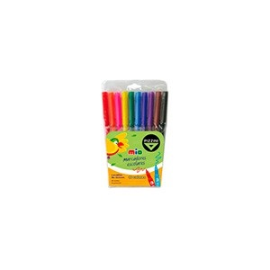 Marcador Pizzini mio escolar x 10 colores