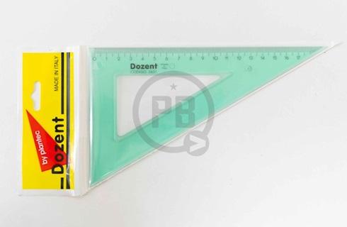 Escuadra Dozent acril técnica 20 x 60 cm 2631
