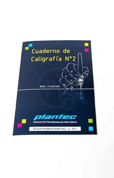 Cuaderno de caligrafia Nº 2 Plantec ART9952