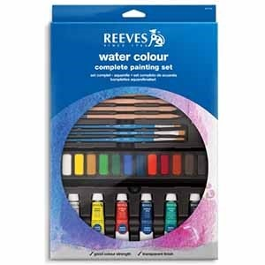 Acuarela Reeves set complete painting 8212142