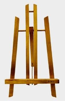 Atril de madera para mesa 22 x 24 x 37 cm