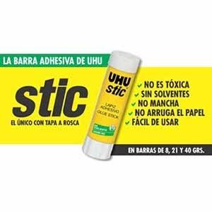 Adhesivo barra Uhu 8,2 gramos