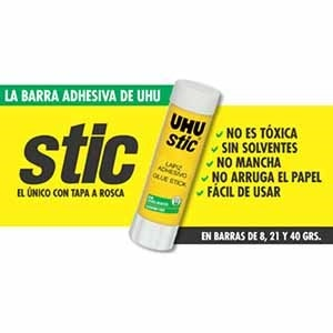 Adhesivo barra Uhu 40 gramos