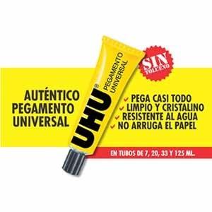 Adhesivo Uhu universal 35 ml
