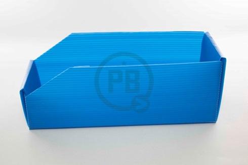 Caja exhibidor plástica Nº 3 30 x 15x11