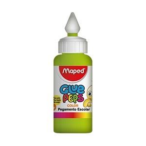 Adhesivo color Maped glue peps verde x 30 gramos