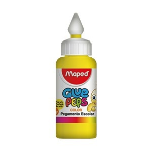 Adhesivo color Maped glue peps amarillo x 30 gramos