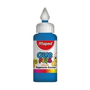 Adhesivo color Maped glue peps azul x 30 gramos