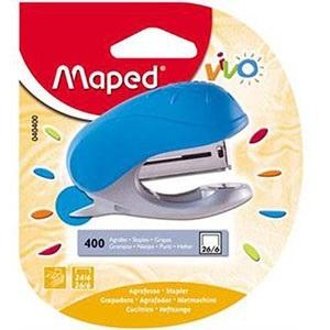 Abrochadora Maped mini vivo Nº 10 blister + 400 br0ches