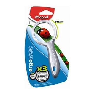 Lupa Maped ergologic 50 mm en blister