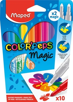 Marcadores Maped color peps magic x 12
