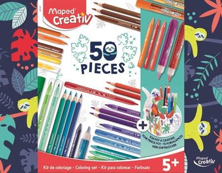 Kit Maped de coloreo 50 piezas