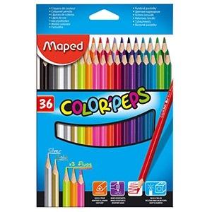Lapices de colores Maped color peps x 36 largos
