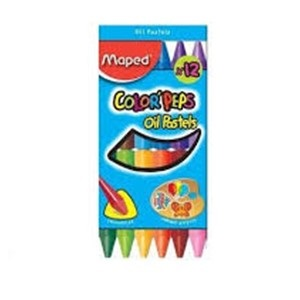 Oleo pastel Maped color peps x 12 col