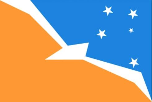 Bandera Tierra del Fuego 90 x 135
