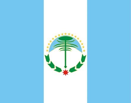 Bandera provincia de Neuquén 90 x 150