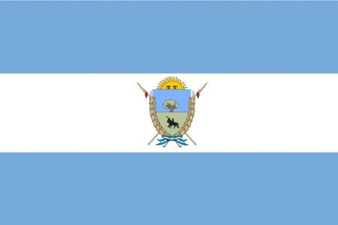 Bandera provincia de La Pampa 90 x 150