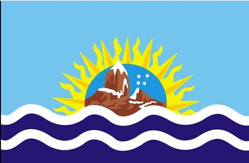 Bandera provincia de Santa Cruz 90 x 150