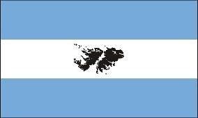 Bandera Islas Malvinas 90 x 150