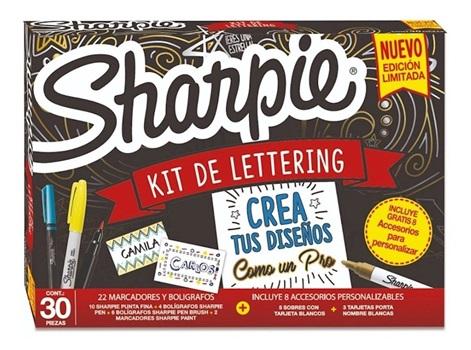 Marcador Sharpie box lettering x22/30pcs