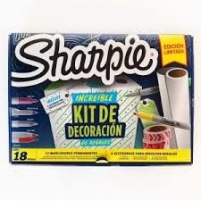Marcador Sharpie box decoracion de regalos x12/18pcs