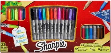 Marcador Sharpie box holliday x23