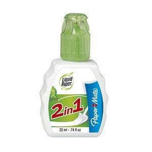 Corrector Liquid Paper 2 en 1 pen+esponja 22 ml