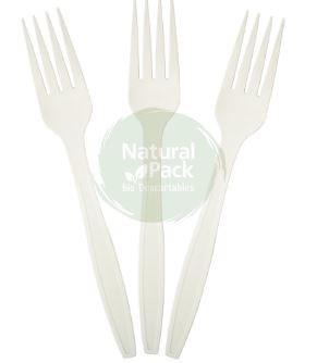 Tenedor Natural Pack bio x 12u