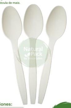 Cuchara Natural Pack bio x 12u