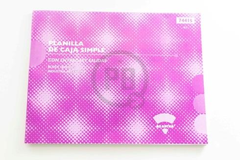 AD-Astra planilla de caja 7441 s