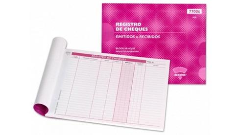 AD-Astra planilla registro de cheques 7501 s