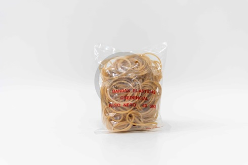 Bandas elásticas Credencial bolsa/ 50 gramos