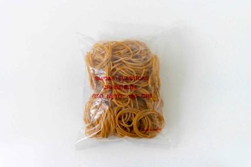 Bandas elásticas Credencial bolsa 100 gramos