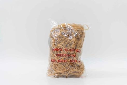 Bandas elásticas Credencial bolsa 250 gramos