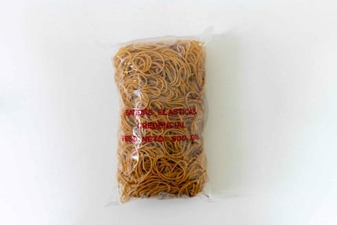 Bandas elásticas Credencial bolsa 500 gramos