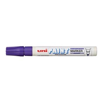 Marcador Uni px-20 pintura 2,8 mm violeta