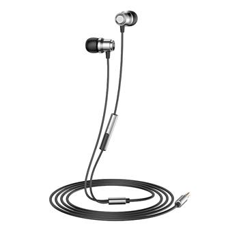 Auricular Havit earphone con micrófono e72p plateado