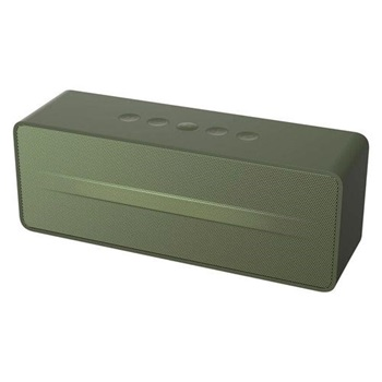Parlante bluetooth Havit 67bt verde militar