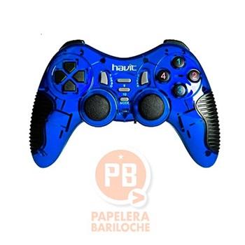 Gamepad usb p/pc y ps3 Havit azul