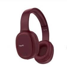 Auricular Havit bluetooth fm-micro sd-aux hlh2590 rojo