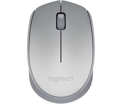 Mouse Logitech inalambrico pc/mac m170 silver