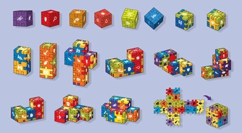 Juego de ingenio cubiexpertos exhibidor x 36 art.200