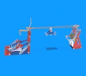 Juego de contruccion mecanex k100 261 pcs (armar 13 modelos)