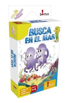 Juegos didacticos infantiles Bontus busca en el mar