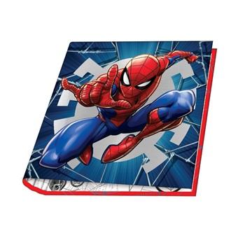 Carpeta 3 anillos redondos 40 mm cartoné Spiderman