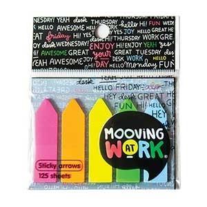 Banderitas plásticas Mooving At Work flecha neon x 125 ART2100201