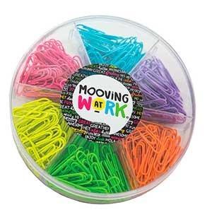 Kit office Mooving clips multicolor 6 en 1 ART 2010104
