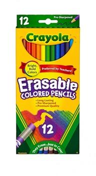 Pinturitas Crayola borrable x 12 largos